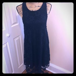 Ginger G Black Lace Comfortable Sexy Dress - LBD